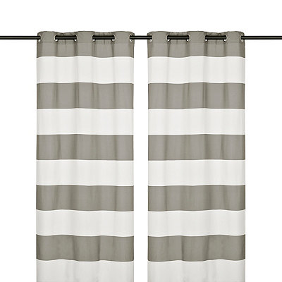 Surfside Marine Curtain Panel Set, 96 in.
