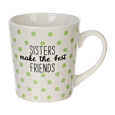 Sisters Make the Best Friends Mug