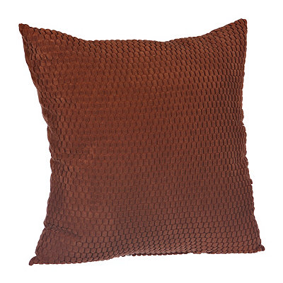 Spice Harris Suede Pillow