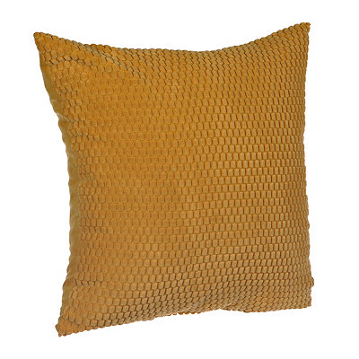 Yellow Harris Suede Pillow