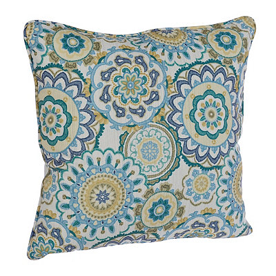 Blue and Green Serna Pillow