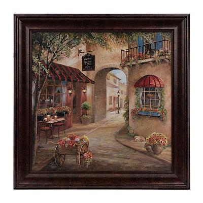 Italian Café I Framed Art Print
