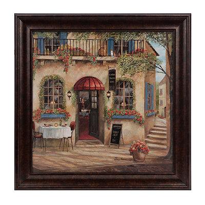 Italian Café II Framed Art Print