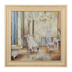 Boudoir Bath II Framed Art Print