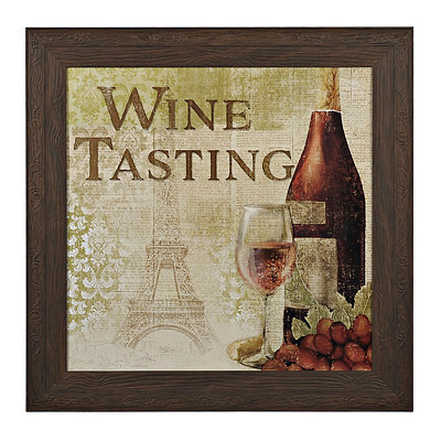 Wine Tasting Framed Art Print