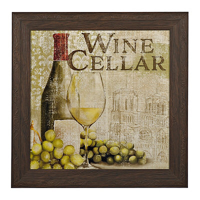 Wine Cellar Framed Art Print