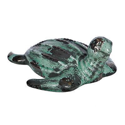 Turquoise Sea Turtle Figurine