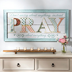 Pray Scrapbook Shadowbox