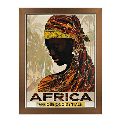 Africa Framed Art Print