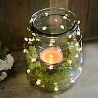 Clear Flower String Lights