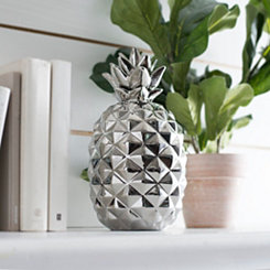 Silver Pineapple Figurine