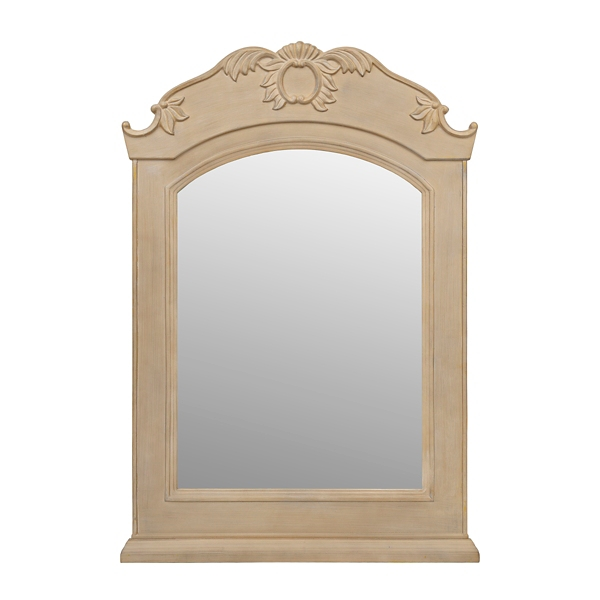 ... Kate Ornate Wooden Mirror