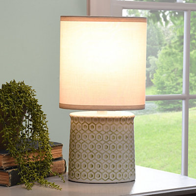 Sage Green Deco Ceramic Table Lamp
