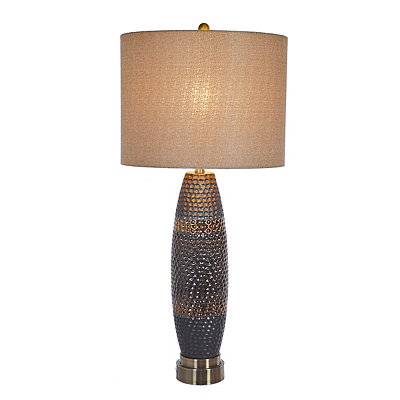 Laughlin Brown Ceramic Table Lamp