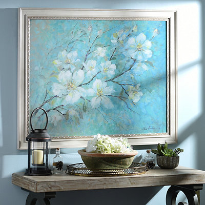 Apple Blossoms Canvas Art Print