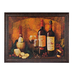 Red Wine Framed Art Print