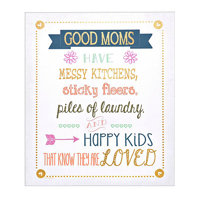 Good Moms Canvas Art Print