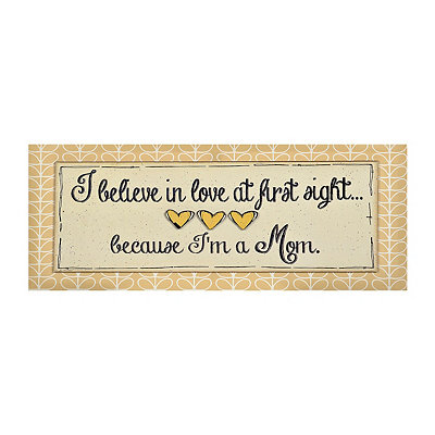 Love at First Sight Canvas Plaque