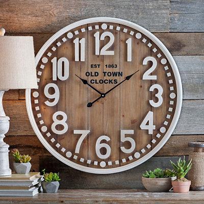 Natural Maddie Clock