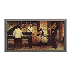 All that Jazz Framed Art Print