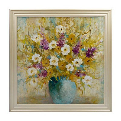 Ana's Bouquet Framed Art Print