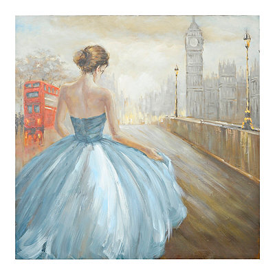London Pursuit of Romance Canvas Art