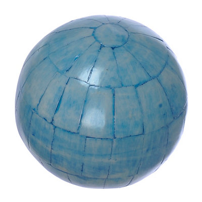 Light Blue Panel Orb
