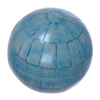 Light Blue Panel Orb