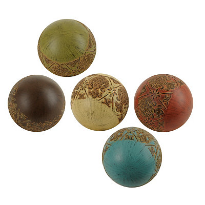 Global Colors Orbs, Set of 5