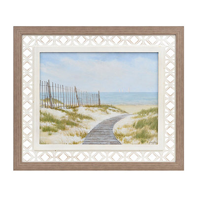 Coastal Retreat I Framed Art Print