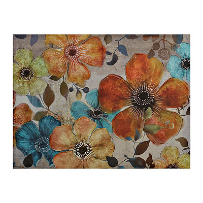 Bright Blooms Canvas Art Print