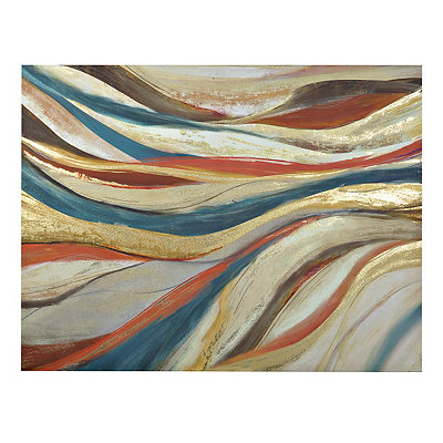 Abstract Lines Canvas Art Print