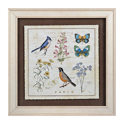 Vintage Garden Treasures II Framed Art Print