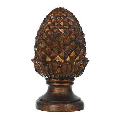 Copper Pineapple Garden Statue