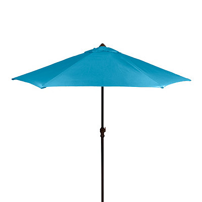 Turquoise Patio Umbrella