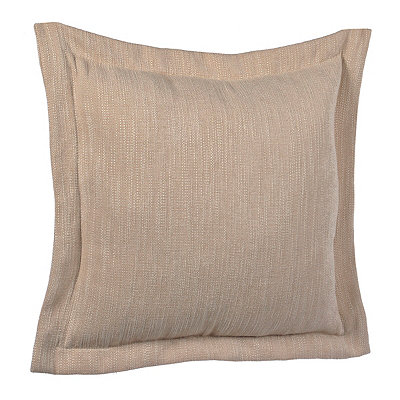 Solid Tan Flange Pillow