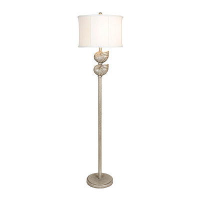 Gunmetal Shells Floor Lamp