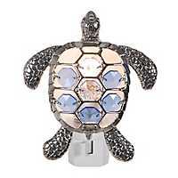 Jeweled Sea Turtle Night Light