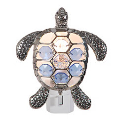 Jeweled Sea Turtle Night Light