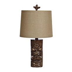 Tiki Time Table Lamp