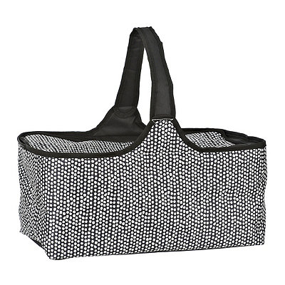 Black and White Dots Picnic Tote