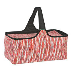 Red and White Dots Picnic Tote