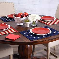 Stars and Stripes Placemats, Set of 4