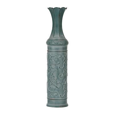 Aged Blue Vine Vase