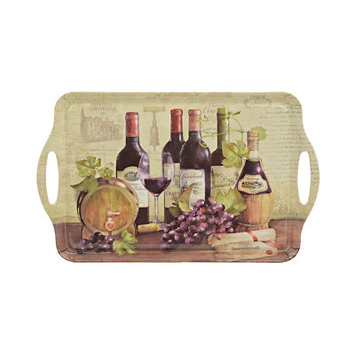 Wine Bottles Serving Tray