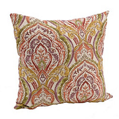 Damask Colors Sketch Pillow