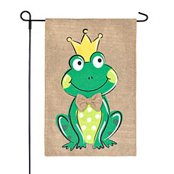 Frog King Flag Set