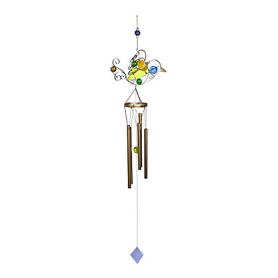 Glass Bird Wind Chime
