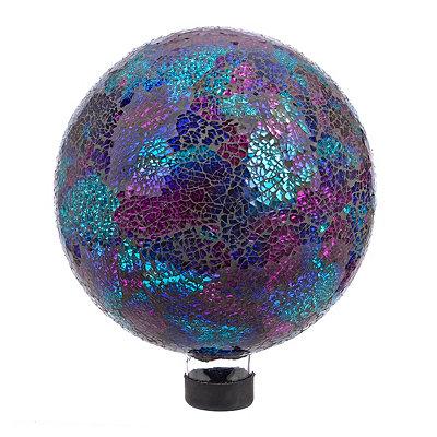 Blue Mosaic Gazing Ball