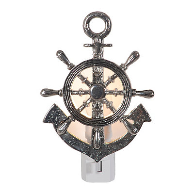 Pewter Anchor Night Light